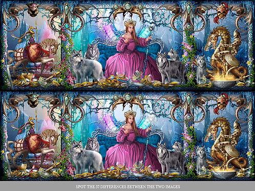 Ice Palace Digital Puzzles