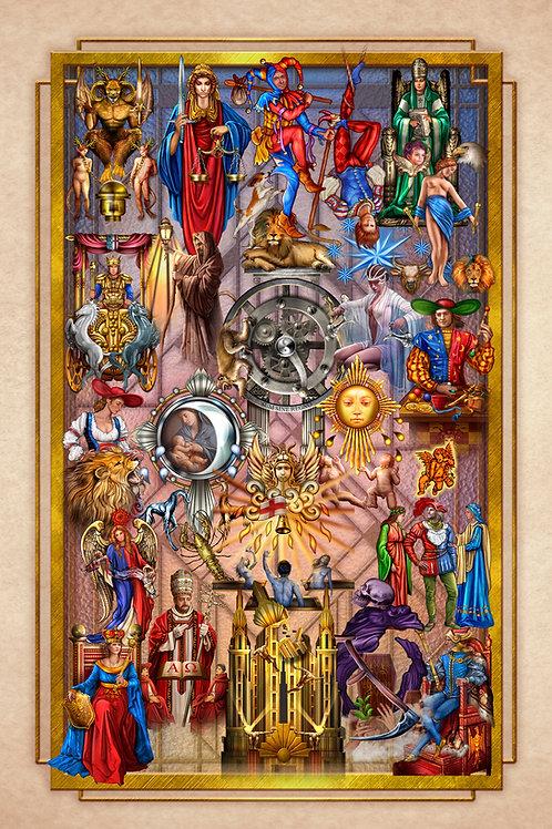 Tarot Decoratif Tapestry S