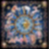 Blue Zodiac Cloth