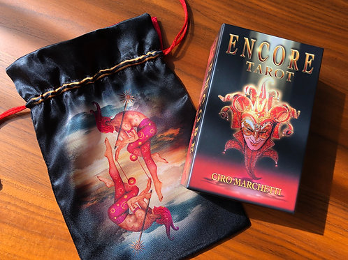 Encore Tarot Satin Bag