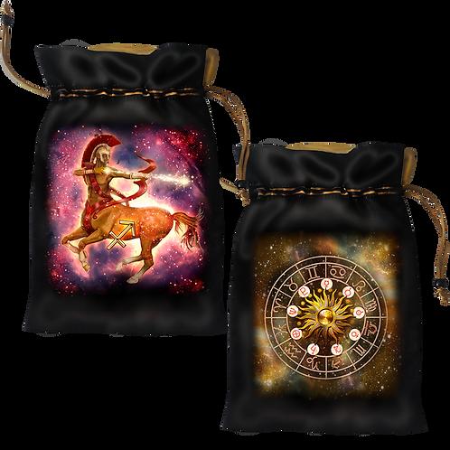 Sagittarius Satin Bag