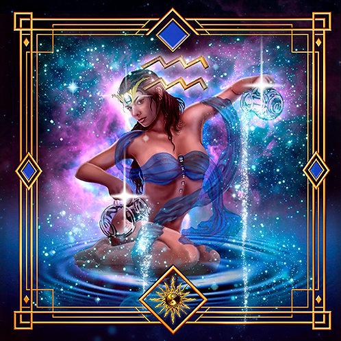 Aquarius Cloth
