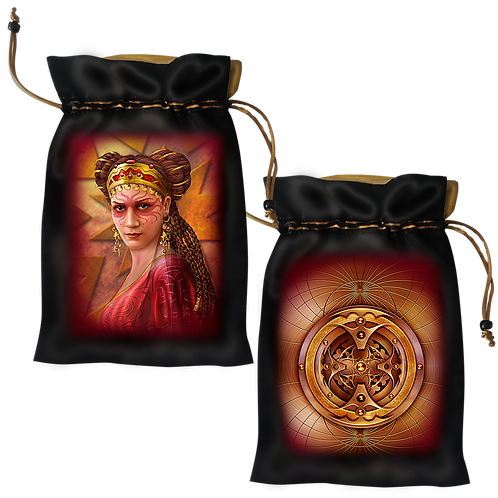 Legacy of the Divine Satin Bag