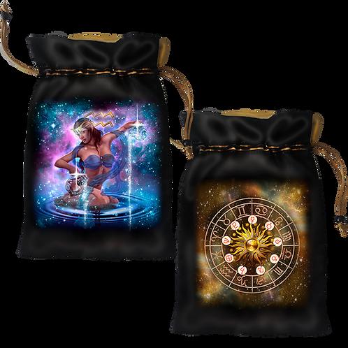 Aquarius Satin Bag