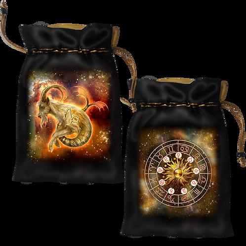 Capricorn Satin Bag