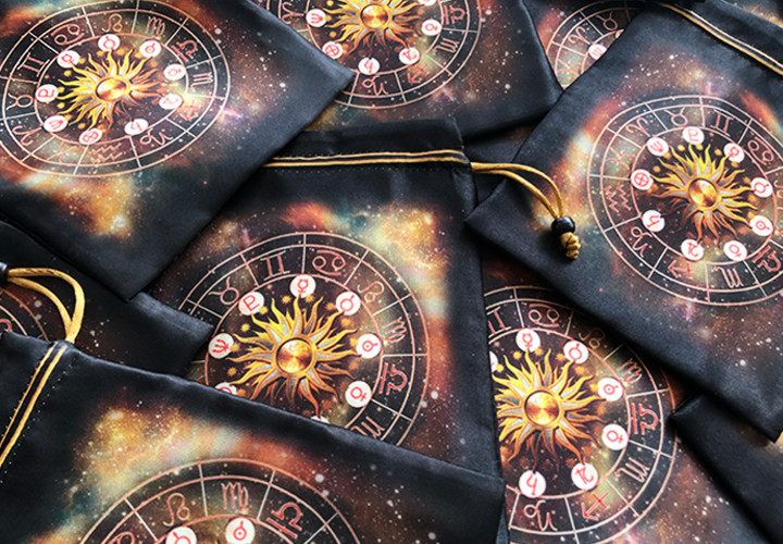 Zodiac Satin Bags (Back)