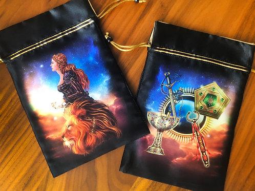 Tarot Royale Satin Bag