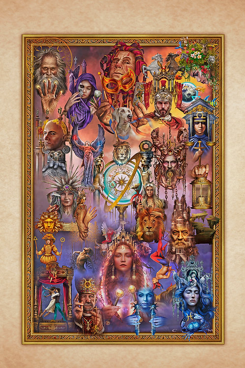 Marchetti. Tarot Tapestry S