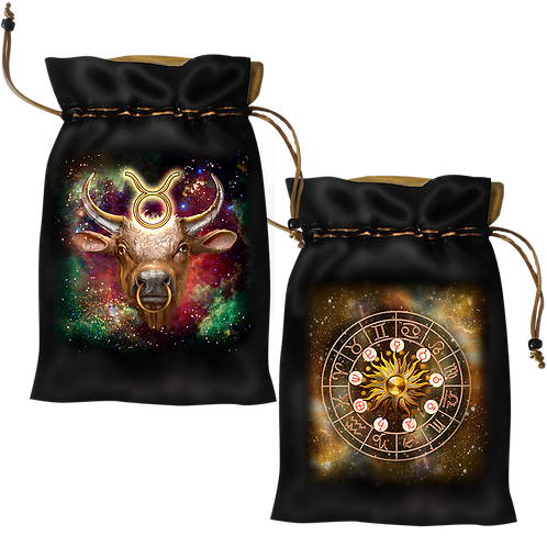 Taurus Satin Bag