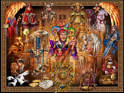 Tarot Grand Luxe - Digital Jig Saw Puzzle