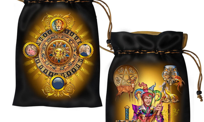 Tarot Grand Luxe Satin Bag