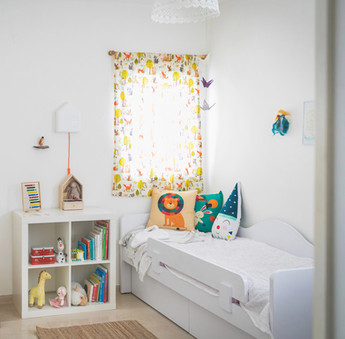 חדר שכולו תמימות וחלומות ילדות