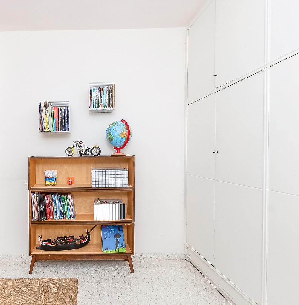 עיצוב חדר ילדים סטודיו חיית וינטאג'  - כוננית
