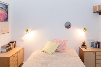 חדר השינה, רך וצבעוני