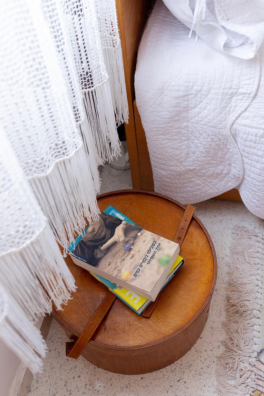 עיצוב חדר שינה סטודיו חיית וינטאג' - וילונות קרושה משוק הפשפשים