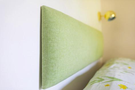 ראש מיטה יוצר בהתאמה אישית לחדר
