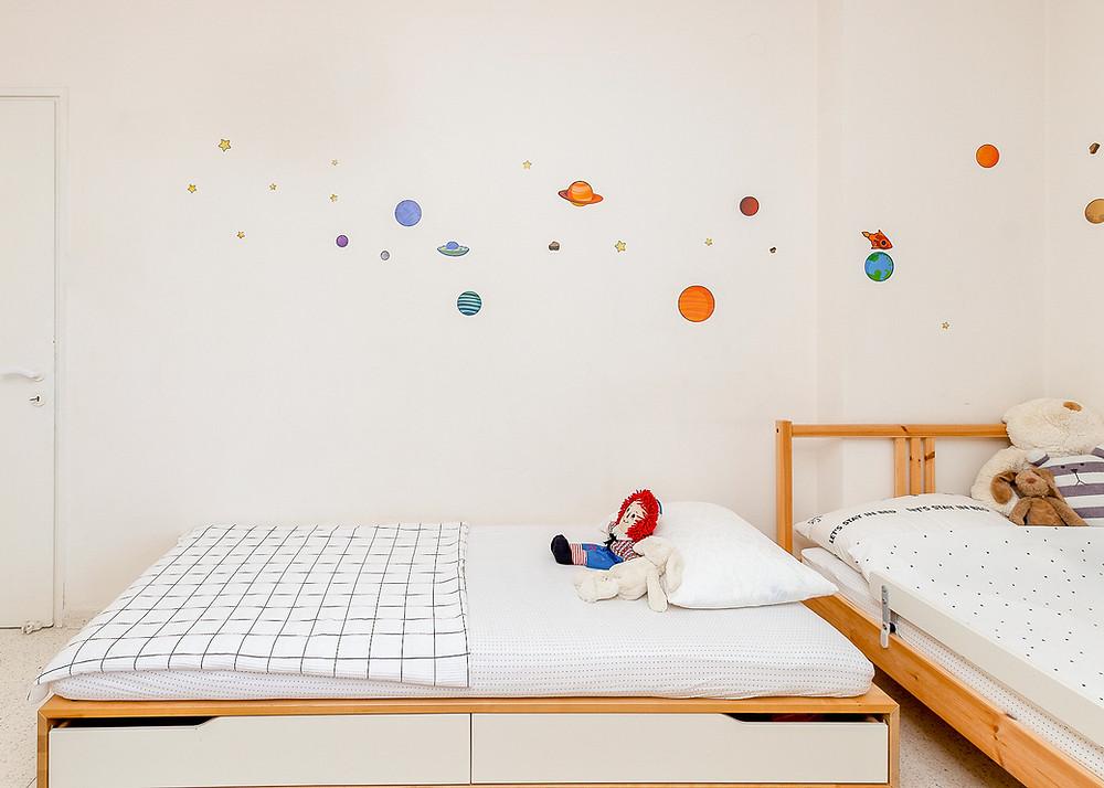 עיצוב חדר ילדים סטודיו חיית וינטאג' - מדבקות קיר