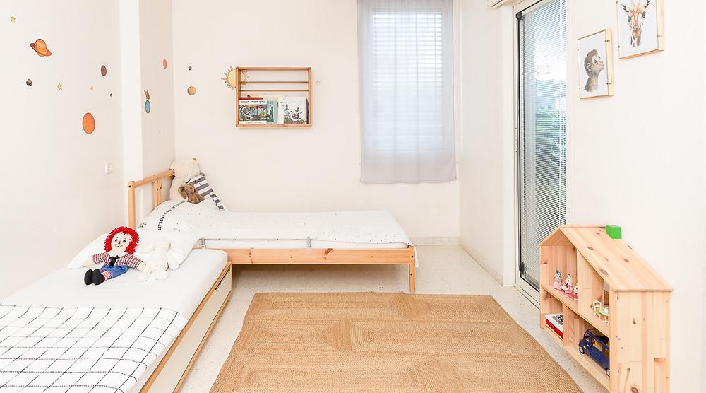 עיצוב חדר ילדים סטודיו חיית וינטאג' - מקום למשחק,קריאה ותצוגה של פריטים אהובים