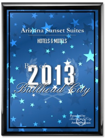 2013 Best of Bullhead City Awards for Hotels and Motels.PNG