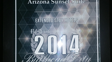 Arizona Sunset Suites Receives 2014 Bullhead City Business Hall of Fame Award