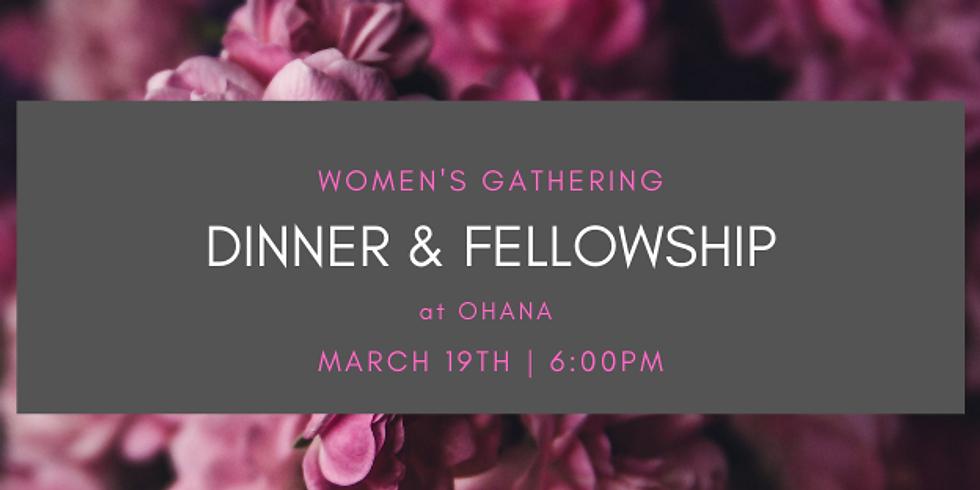 Women's Dinner and Fellowship