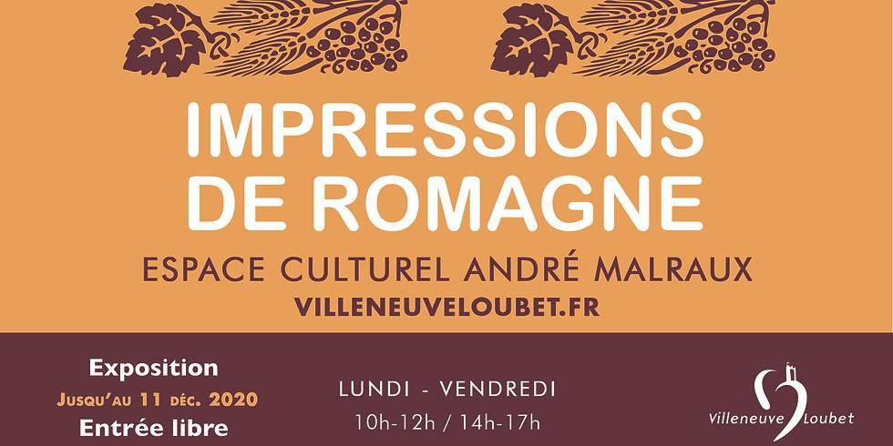 Exposition - Impressions de Romagne