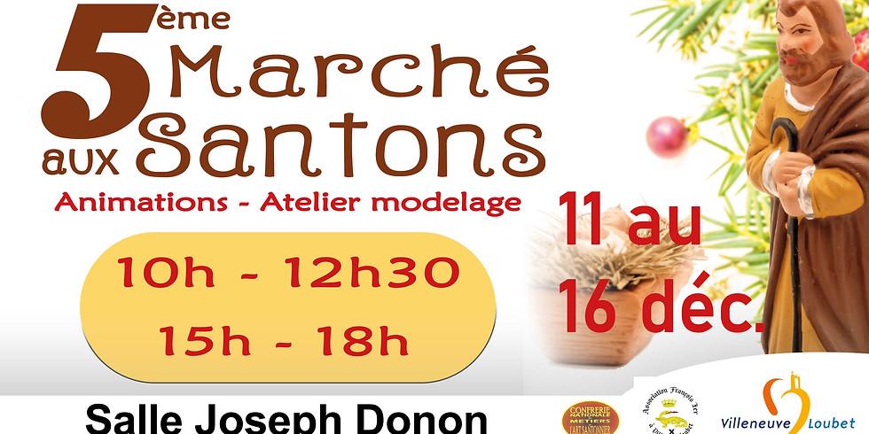 5ème Marché aux Santons