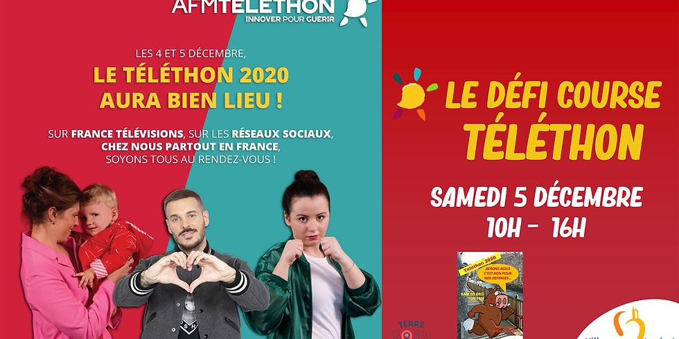 LE DÉFI COURSE TÉLÉTHON