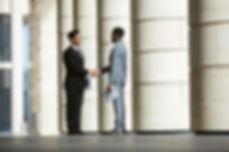 business-partners-meeting-outdoors-9KPLR