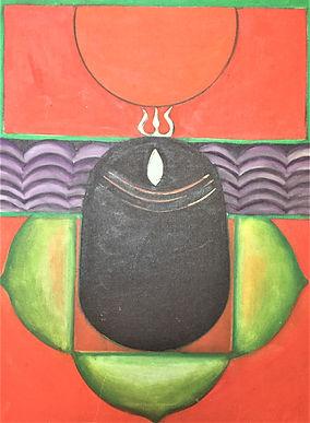 Deepak Shimkhada-Shiva Linga-1977.JPG