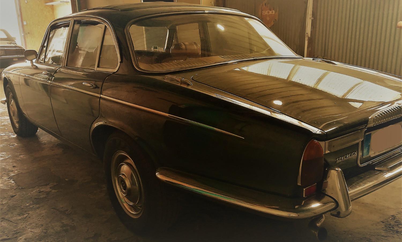 Daimler XJ6 découvrable
