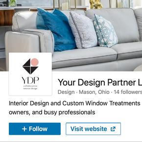 LinkedIn Business Page  for Interior Design Studio
