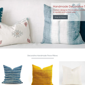 Luxury Handmade Designer Pillows