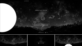Asteroid Infographic Website