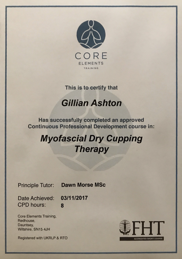 Myofascial Dry Cupping Certificate
