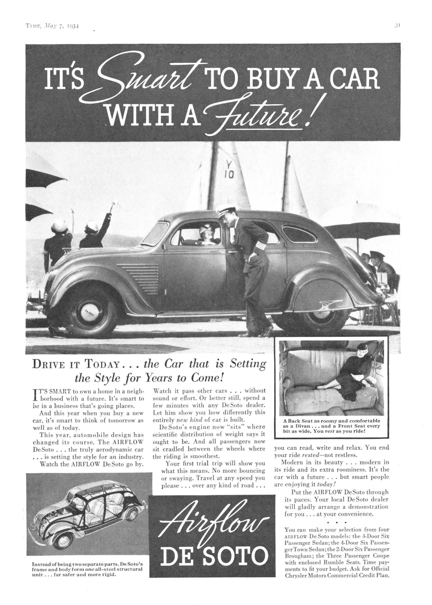 1934 DeSoto SE