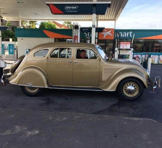 1934 DeSoto SE RHD Sedan
