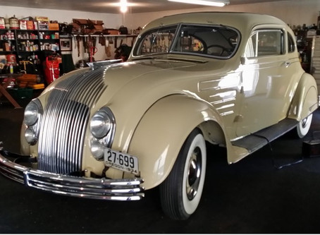 1934 Chrysler CU Airflow Coupe for sale