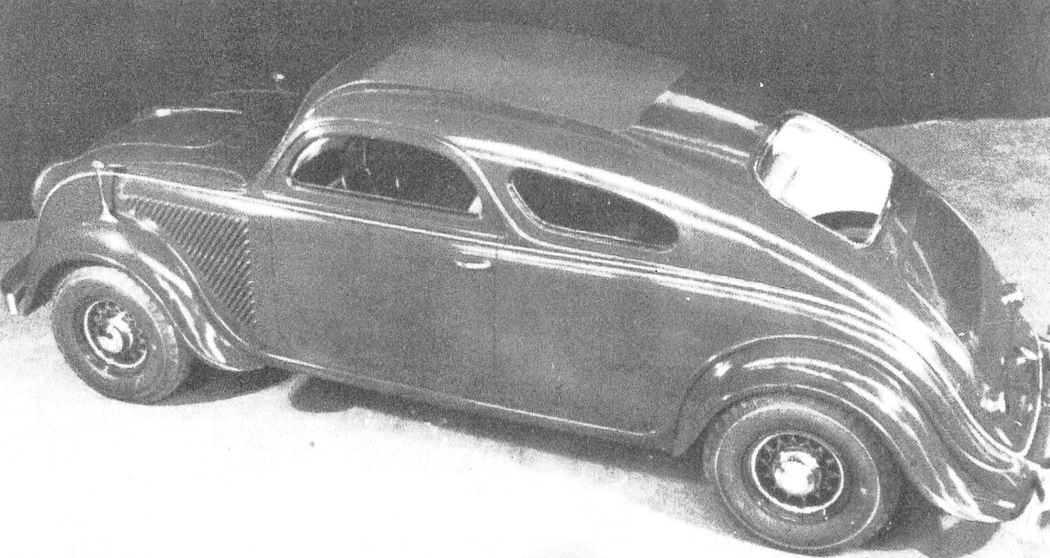 Prototype DeSoto Airflow Coupe
