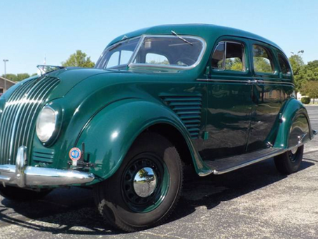 [SOLD] Restored 1934 DeSoto Airflow for sale