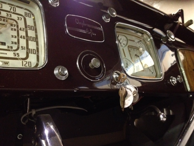 Dash with refinished ashtray