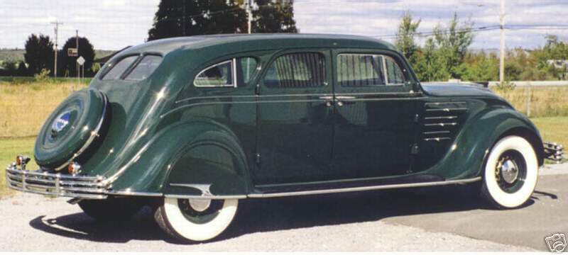 1934 Chrysler CX Sedan