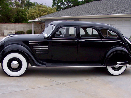 SOLD! Beautiful 1934 Airflow Chrysler Imperial