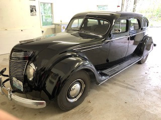 1937 Airflow C17 Sedan, Survivor