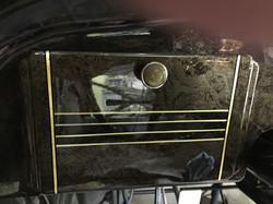 1936 DeSoto S2 glovebox trim