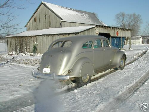 1937 Chrysler C17 Sedan