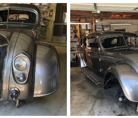 Restoring the other 1936 Custom Imperial C11
