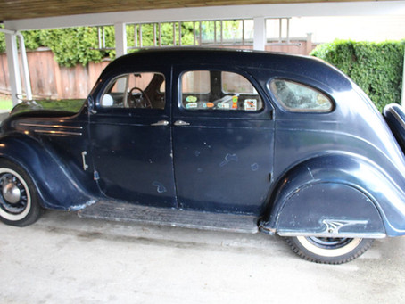Rare Canadian 1935 DeSoto Airflow Series SG For Sale?