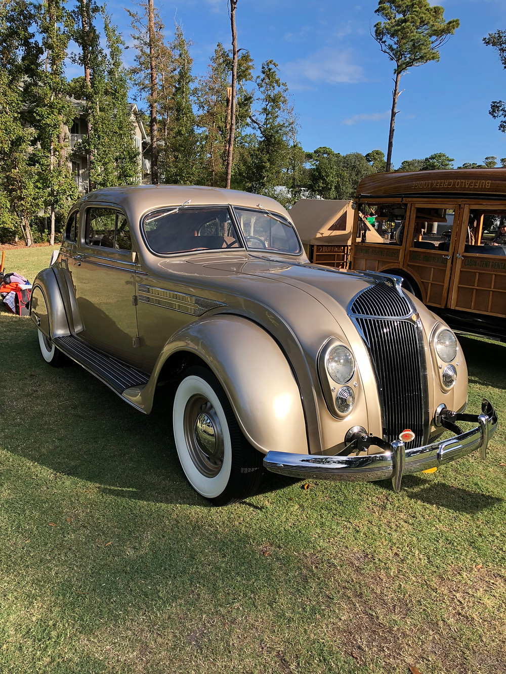 Becker coupe at Hilton Head Island Concours