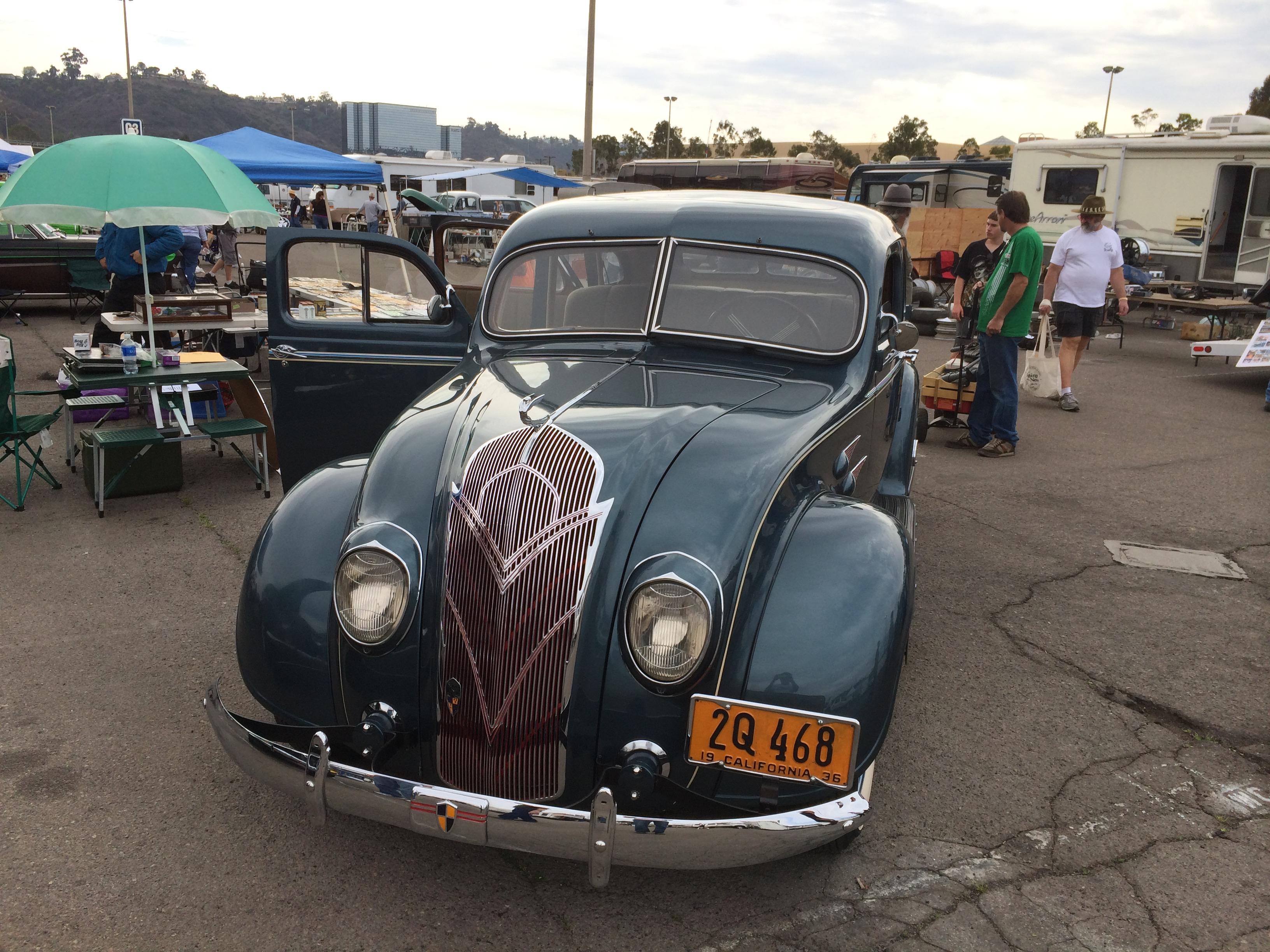 1936 DeSoto S2 Sedan
